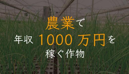 """農業で """"年収1000万円"""" を得るための作物選び。有料note"""